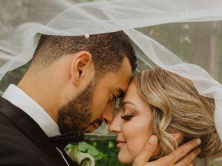 The wedding of Tina  and Mo