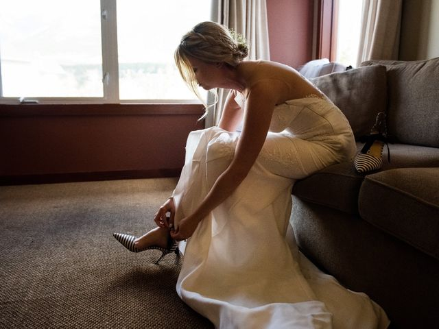 Riley Frame and Kimberly White's wedding in Canmore, Alberta 15