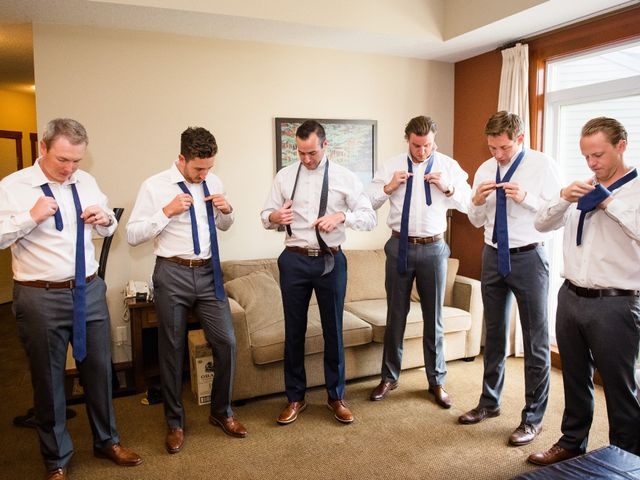Riley Frame and Kimberly White's wedding in Canmore, Alberta 20
