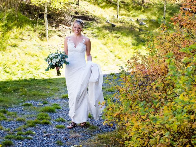 Riley Frame and Kimberly White's wedding in Canmore, Alberta 22