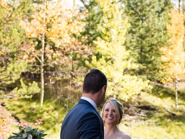 Riley Frame and Kimberly White's wedding in Canmore, Alberta 25