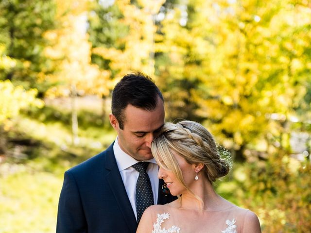 Riley Frame and Kimberly White's wedding in Canmore, Alberta 26