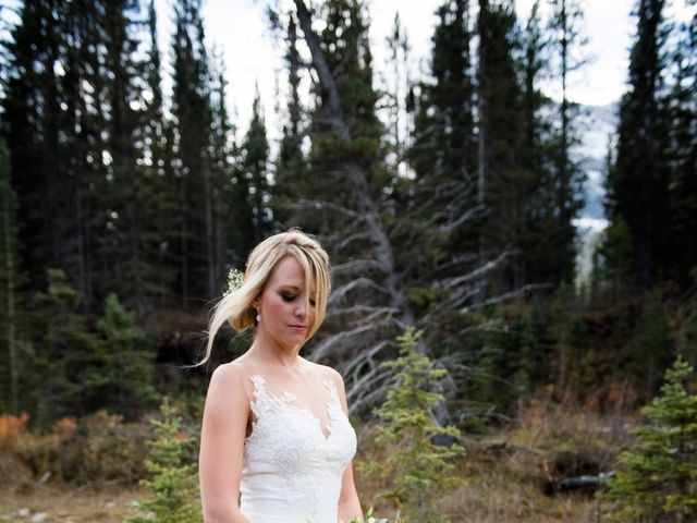 Riley Frame and Kimberly White's wedding in Canmore, Alberta 31
