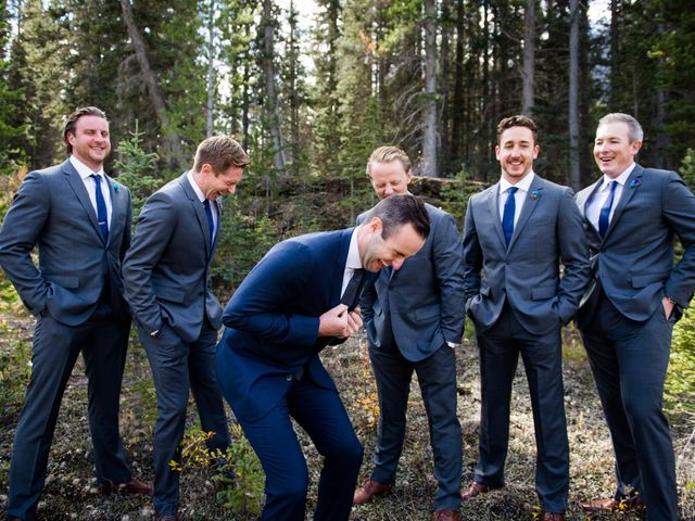 Riley Frame and Kimberly White's wedding in Canmore, Alberta 34