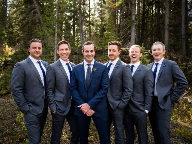 Riley Frame and Kimberly White's wedding in Canmore, Alberta 35