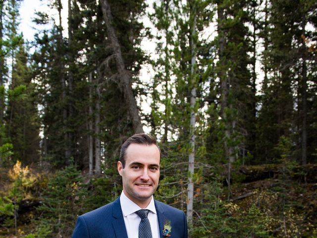 Riley Frame and Kimberly White's wedding in Canmore, Alberta 36