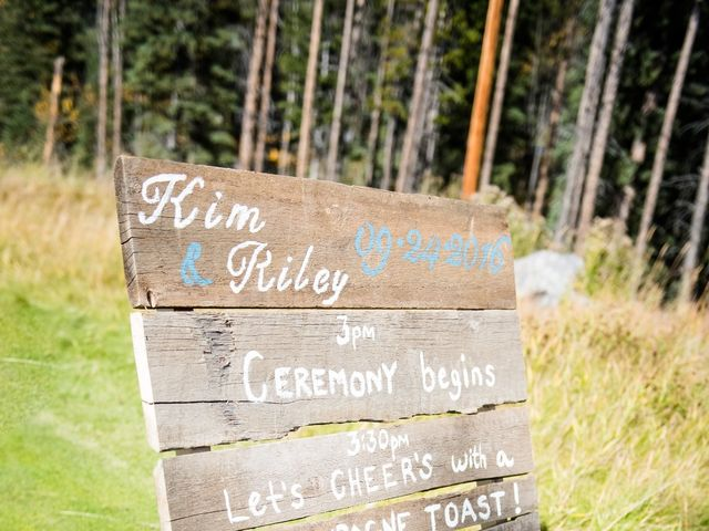 Riley Frame and Kimberly White's wedding in Canmore, Alberta 47