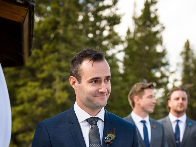 Riley Frame and Kimberly White's wedding in Canmore, Alberta 49