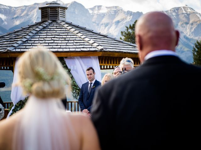 Riley Frame and Kimberly White's wedding in Canmore, Alberta 51