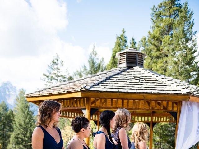 Riley Frame and Kimberly White's wedding in Canmore, Alberta 53