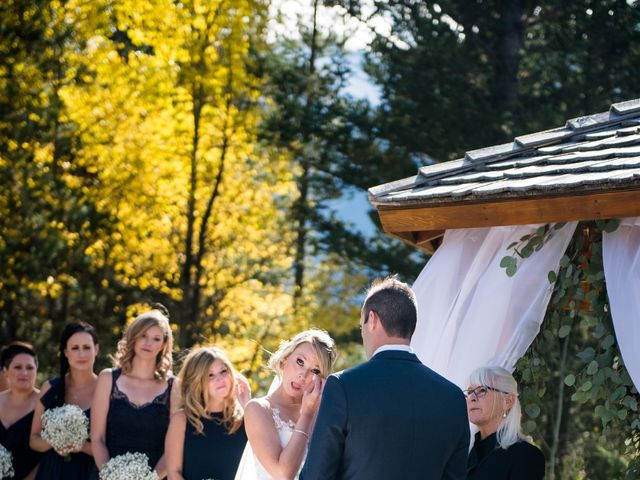 Riley Frame and Kimberly White's wedding in Canmore, Alberta 54