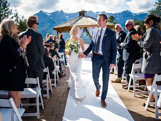 Riley Frame and Kimberly White's wedding in Canmore, Alberta 57