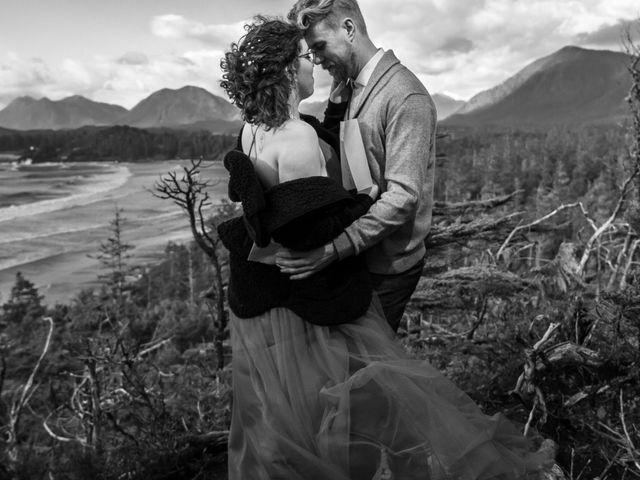 Riley and Brianne's wedding in Tofino, British Columbia 3