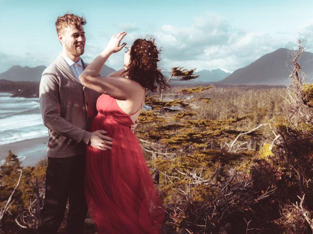 Riley and Brianne's wedding in Tofino, British Columbia 7