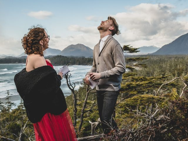 Riley and Brianne's wedding in Tofino, British Columbia 9