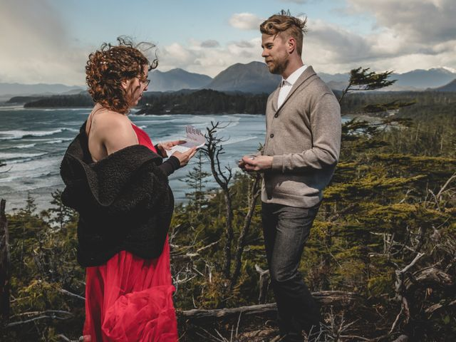 Riley and Brianne's wedding in Tofino, British Columbia 10