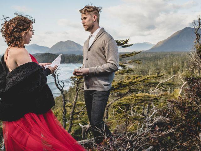 Riley and Brianne's wedding in Tofino, British Columbia 11