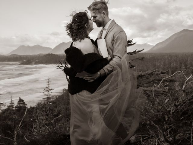 Riley and Brianne's wedding in Tofino, British Columbia 13