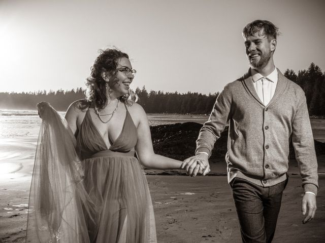 Riley and Brianne's wedding in Tofino, British Columbia 17