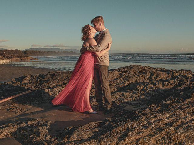 Riley and Brianne's wedding in Tofino, British Columbia 1
