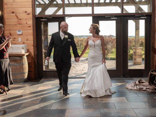 The wedding of Jennifer and Cody