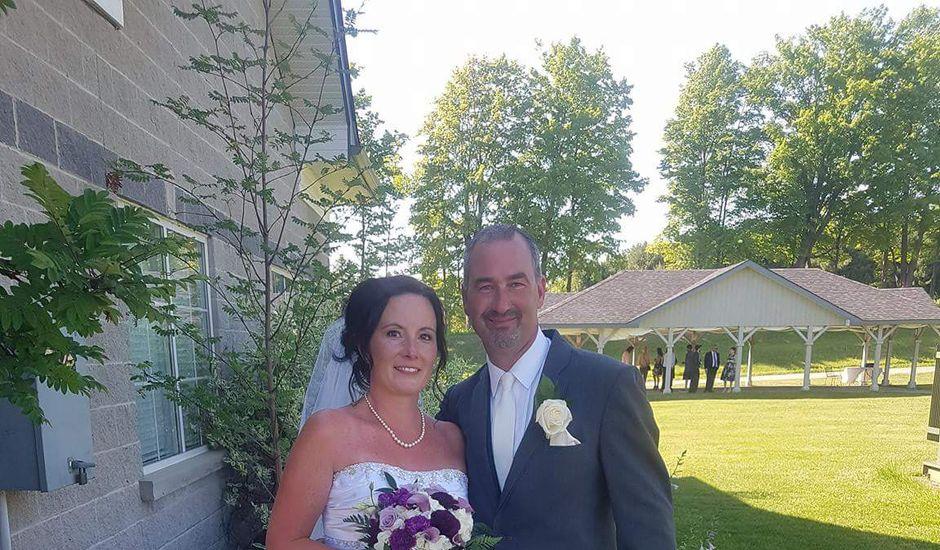 Ryan and Tamara's wedding in Severn, Ontario