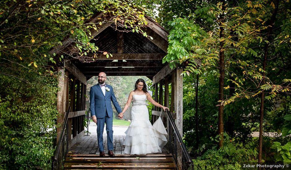 Kevin and Margarita's wedding in Hamilton, Ontario