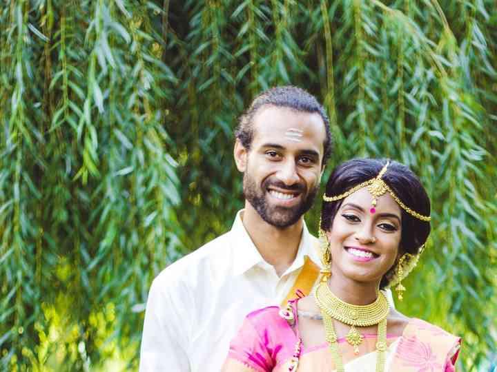 The wedding of Rasila and Siya