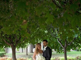 The wedding of Brittany and Mark