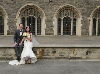The wedding of Monica and Aaron