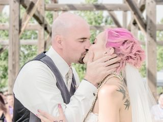The wedding of Cassie-Rae and Shaun 2