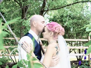 The wedding of Cassie-Rae and Shaun