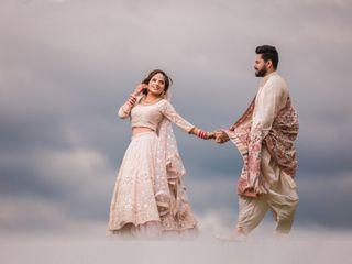 The wedding of Mrinali and Arjun