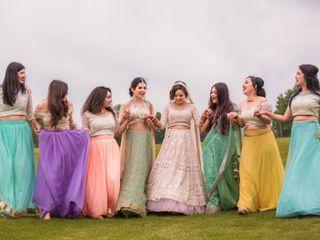 The wedding of Mrinali and Arjun 2