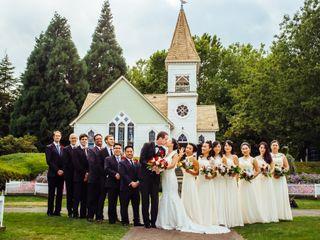The wedding of Karen and Robert 1