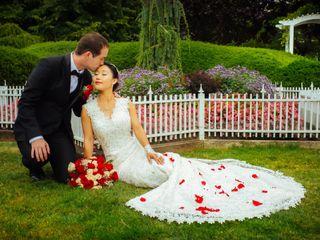 The wedding of Karen and Robert