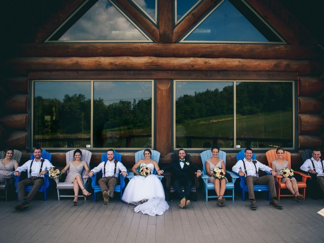 Justin and Laura's wedding in Kitchener, Ontario 2