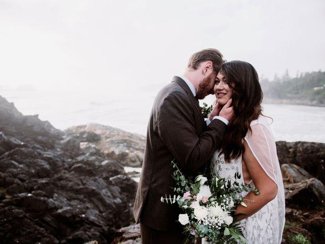 John and Astryd's wedding in Tofino, British Columbia 7