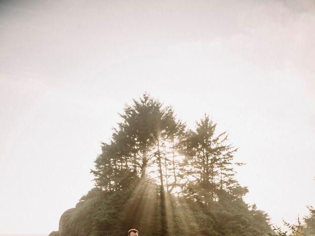 John and Astryd's wedding in Tofino, British Columbia 8