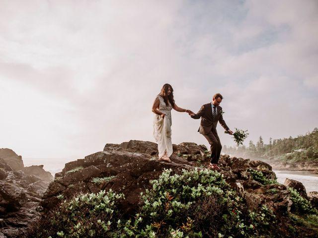 John and Astryd's wedding in Tofino, British Columbia 2