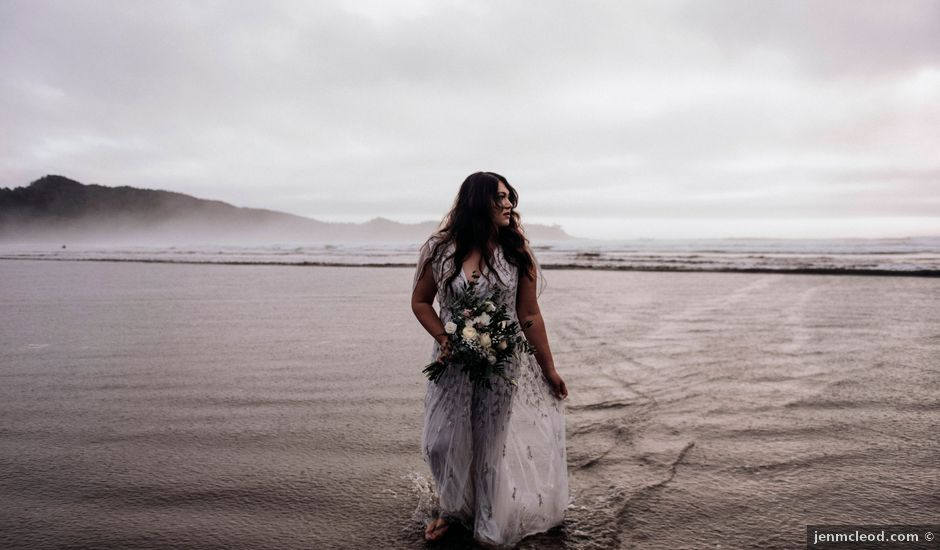 John and Astryd's wedding in Tofino, British Columbia