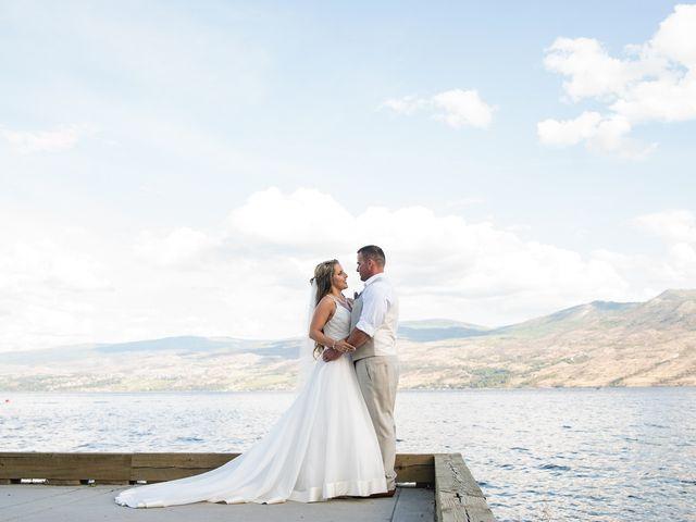 William and Caitlin's wedding in West Kelowna, British Columbia 79