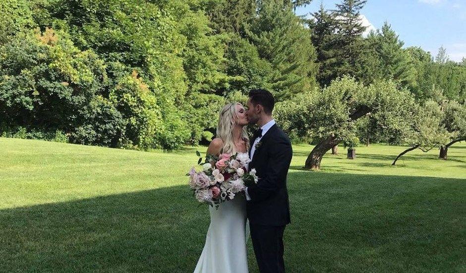 Steve and Amy's wedding in Cambridge, Ontario