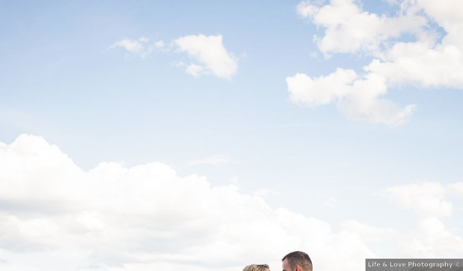 William and Caitlin's wedding in West Kelowna, British Columbia