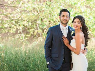 The wedding of Sabrina and Abid