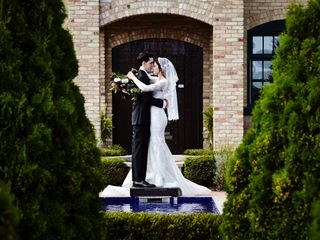 The wedding of Samantha and Stephen