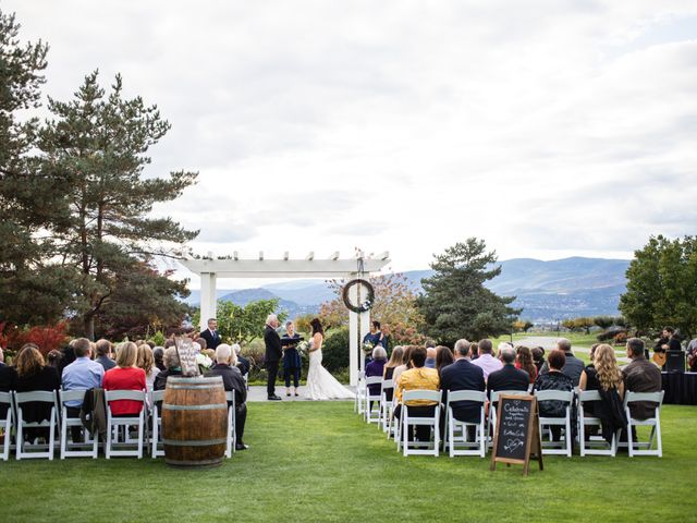 Dan and Michele's wedding in Kelowna, British Columbia 45