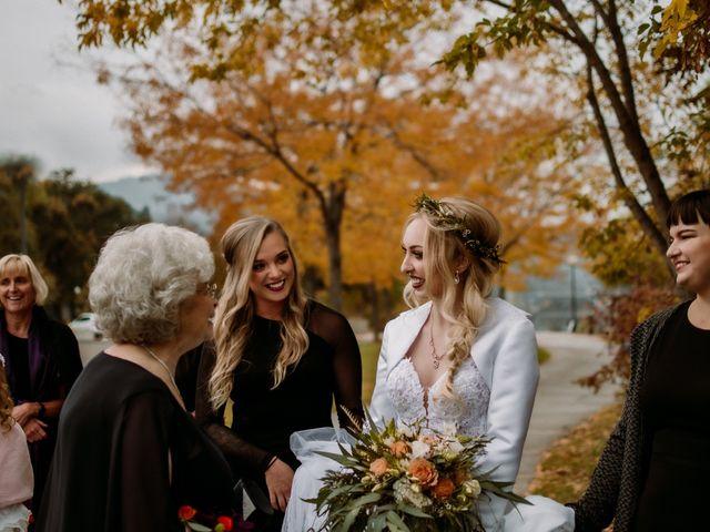 Kris and Rachelle's wedding in Kamloops, British Columbia 12