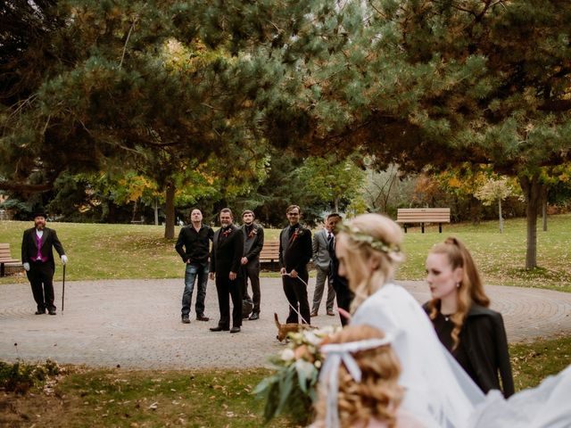 Kris and Rachelle's wedding in Kamloops, British Columbia 14