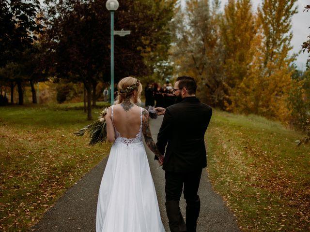 Kris and Rachelle's wedding in Kamloops, British Columbia 23